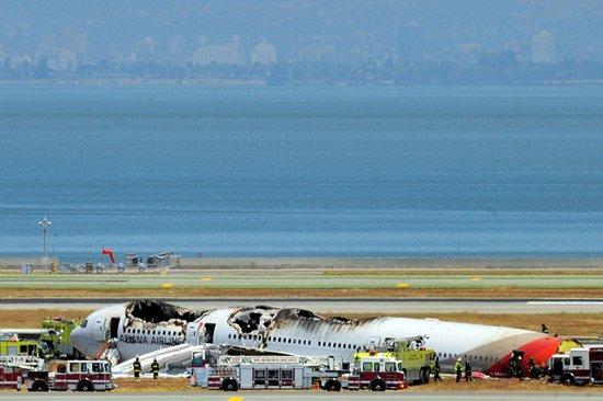 韩国客机在旧金山失事 2名浙江女中学生遇难
