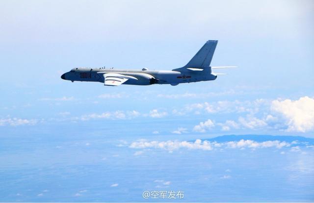 中国战机飞越巴士、宫古海峡 军方:不针对特定国家