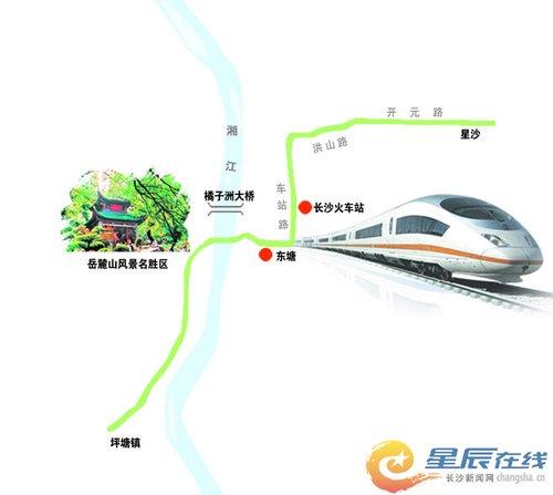 地铁三号线一期走向示意图 何朝霞制图-地铁3号线一期拟设25站图片