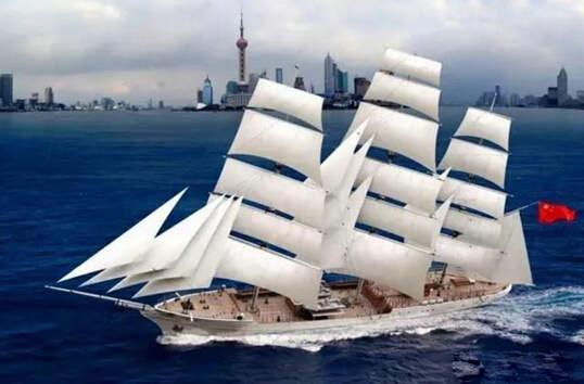 中国海军训练舰艇数量不足 装备风帆训练舰好处多