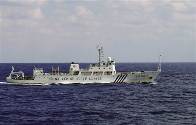 中国4艘海监船巡航钓鱼岛领海 应对日右翼进入