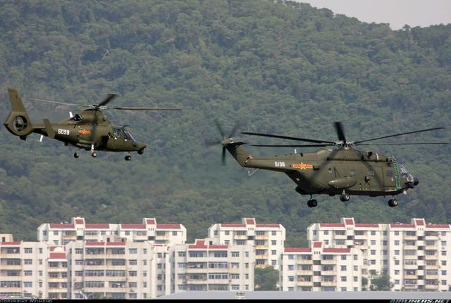 中国陆航直升机未来将达到2000架,一树之高谁与争锋