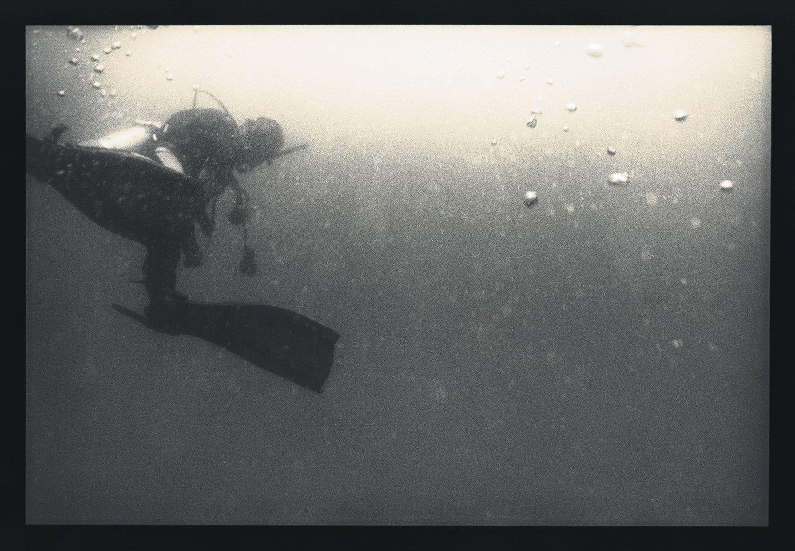 《潜水者》#4。摄影/野口里佳