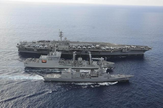 美军高官:不会因中国生气而放弃南海军事行动