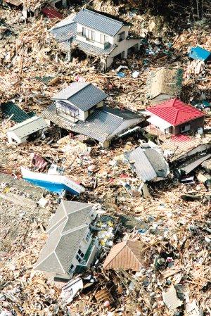 日本震区3县几毁灭 释放能量为阪神地震180倍