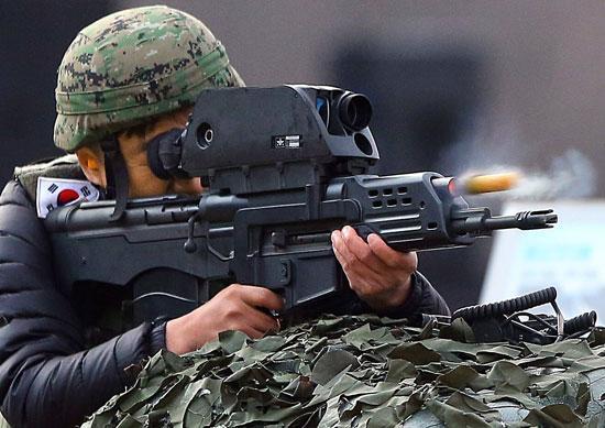 韩明星武器K-11步枪再曝缺陷 或致数亿元损失
