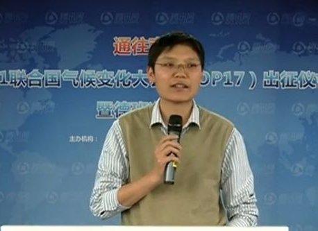 山水自然保护中心气候变化项目主任杨方义