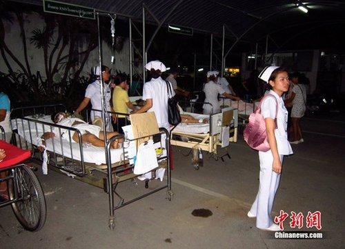 缅甸地震已造成75死110伤 死亡人数或继续上升