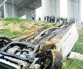 警车飚车导致重大车祸