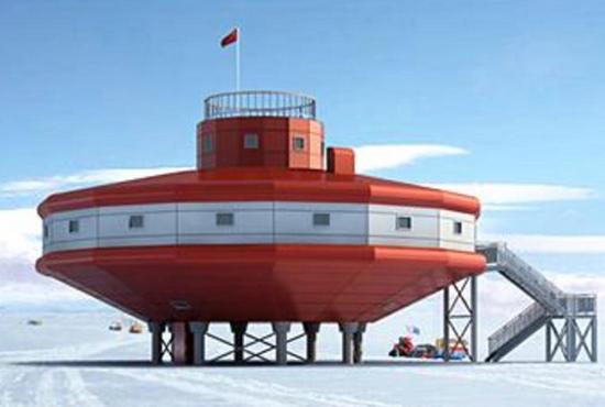 """中国将在南极建""""灯笼""""科考站 美国有4座酒吧"""