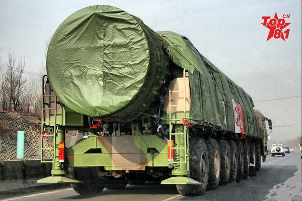 中国的军费和核力量都还不够 要加快列装东风41