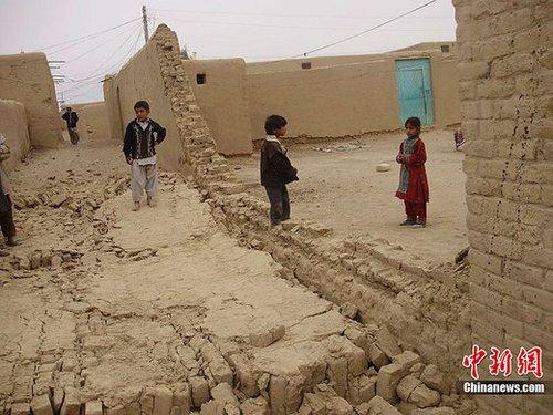 巴基斯坦发生7.2级地震 迄无中国公民伤亡(图)