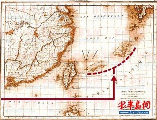 英军档案记载1845年英舰登钓鱼岛需经中国批准