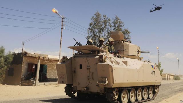 """""""决断""""组织宣称制造开罗一检查站炸弹袭击事件"""