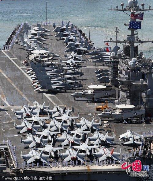 张召忠:美国没能力包围中国 但遏制是存在的