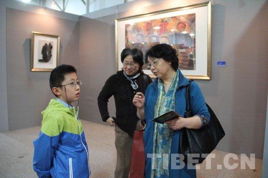 有震撼力和感染力的西藏美术作品更深入人心