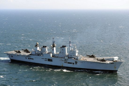女王级航母:见证英军的衰败