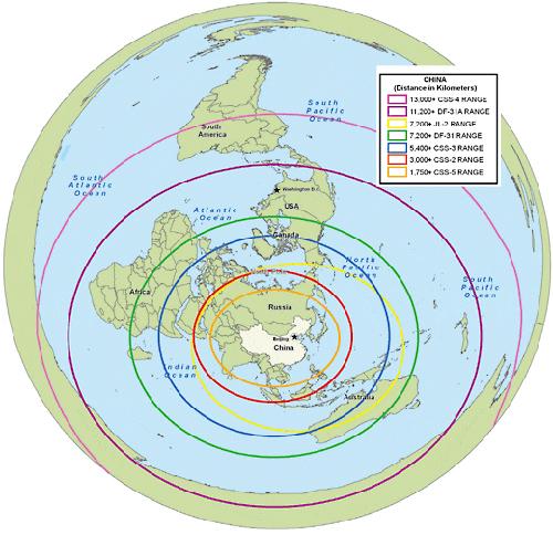 美媒:中国094型核潜艇上周试射巨浪2洲际导弹