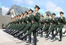 解放军仪仗队墨西哥首训