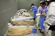 救援人员正在统计死亡人数