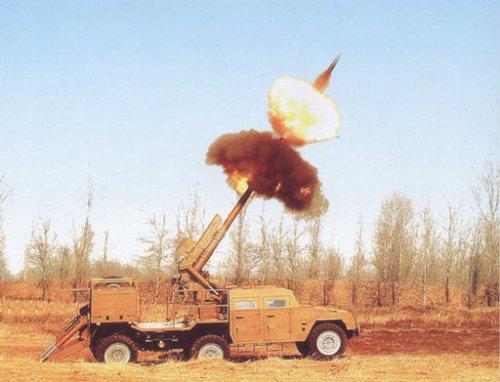 俄称中国SH2车载榴弹炮轻巧 可配制导炮弹