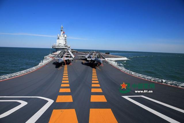 日媒:中国辽宁号航母实力一般 对手很容易应对