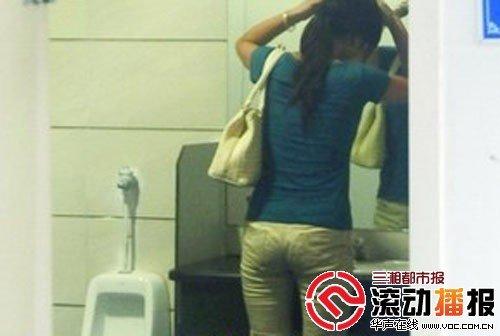 长沙女厕内建小男孩便池 拟设女用站立厕位