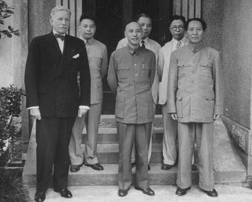 蒋介石日记披露:重庆谈判时曾想扣留毛泽东