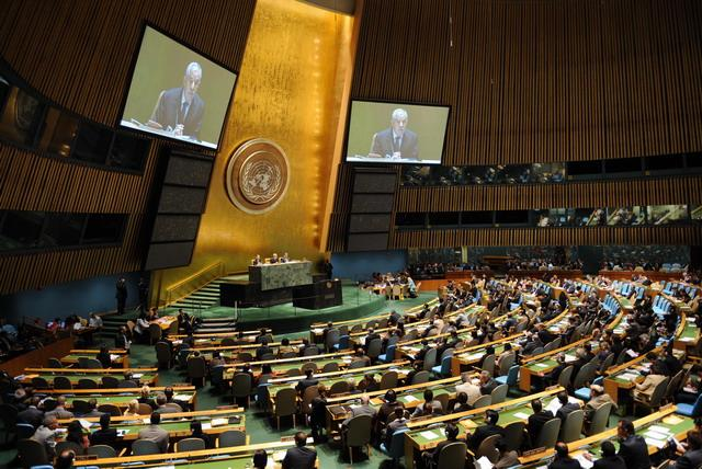联大5日通过日本主导废除核武器决议案 中俄投反对票