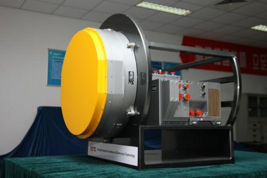 中国机载有源火控雷达首度现身珠海航展