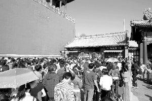 北京百余商家黄金周进账59.3亿 楼市甚为冷清