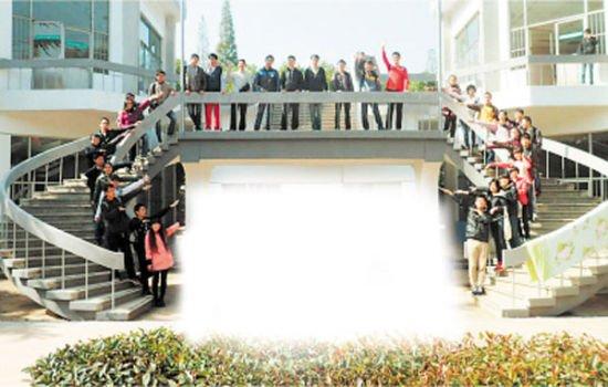 中南大学土木工程学院土木天佑1101班集体照。由本班供图