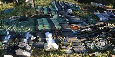 缅甸查扣8名中国非法武装人员 发现31枚手榴弹