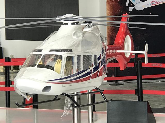 中国推出四吨级高原型民用直升机