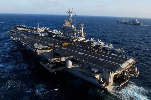 五角大楼:中国拒绝美国航母战斗群访问香港