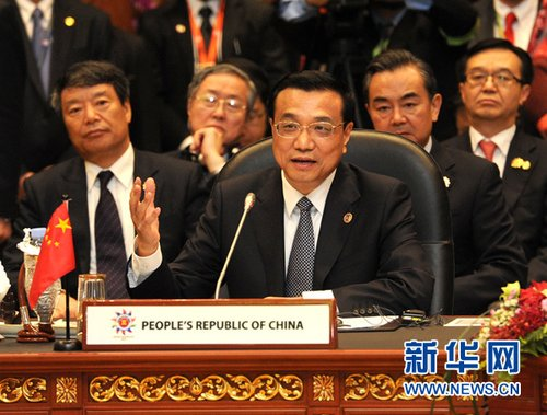 李克强谈南海:争议应由直接当事方通过协商和谈判解决