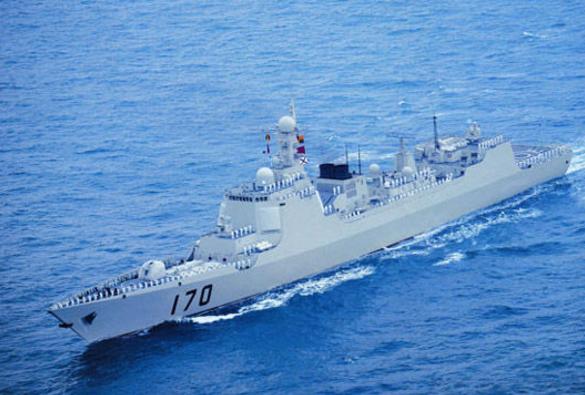 国防部:兰州号导弹舰对闯南沙美舰予以警告