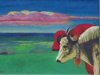 李生琦作品――《高原之梦》