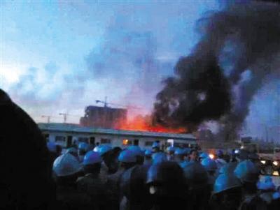 在越中资企业遭打砸致1死百余伤 中方严正抗议