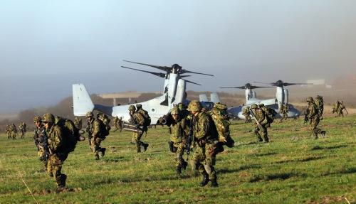 日美拟举行联合夺岛演习 陆上自卫队将首次参演