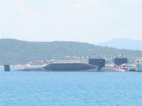 日媒称中国将建海南基地 并部署核潜艇和航母