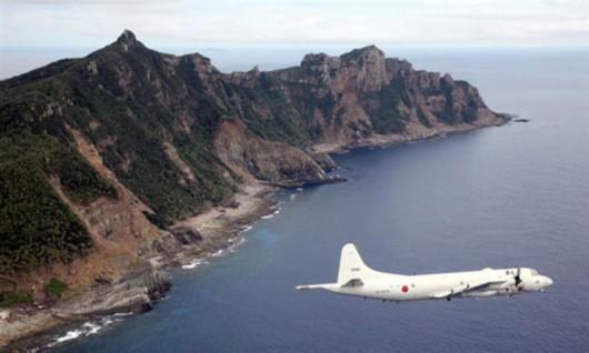 日本自卫队发写真集 含巡逻机在钓鱼岛飞行镜头