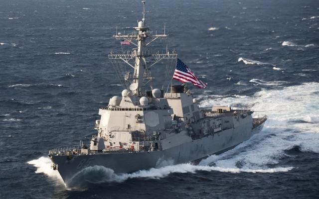 美导弹驱逐舰进入中国西沙群岛领海 外交部回应
