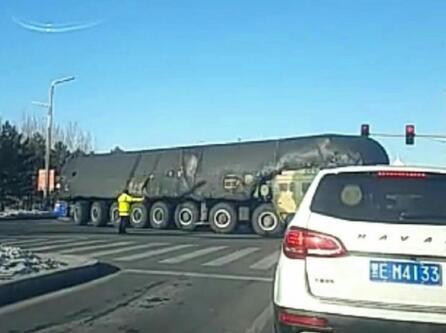 媒体:若东风41导弹正式列装中国将获更多尊重