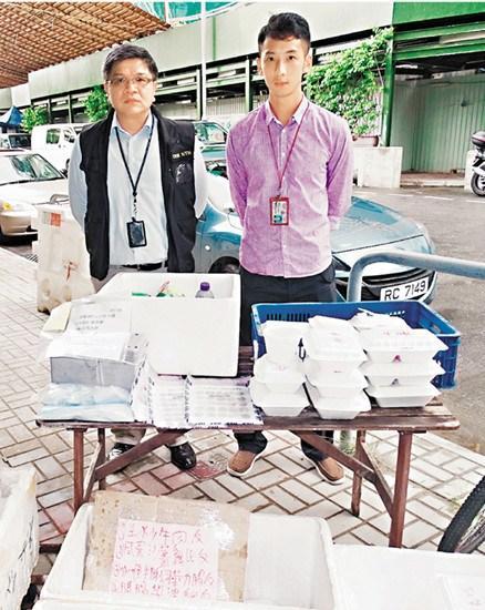 香港黑帮企图垄断地盘卖饭盒 警方拘捕6人