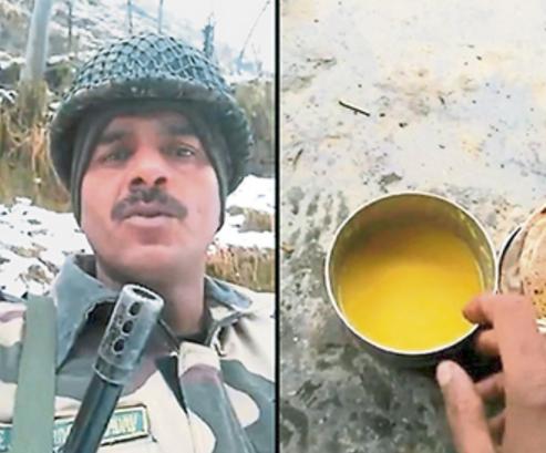 """印度边防兵因""""抱怨伙食太差、有两部手机""""被开除"""