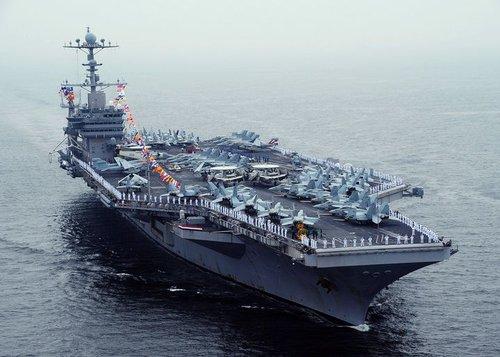 美3艘核潜齐现身 韩媒称美不会坐视中国挑战