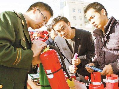 介绍消防器材使用方法