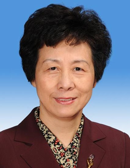 严隽琪当选为十二届全国人大常委会副委员长