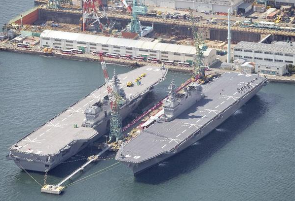 日本加贺号准航母服役 针对中国潜艇性能提升